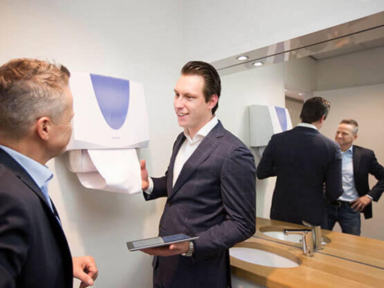 De sanitair producten van Lavans voor perfecte sanitair hygiëne. Ellipse sanitairlijn.