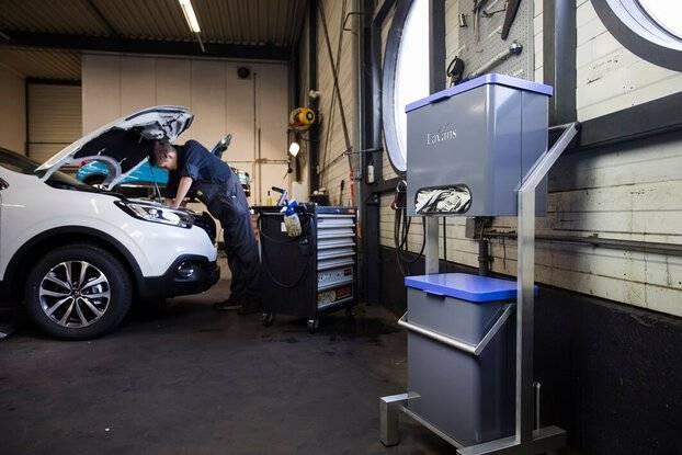 poetsdoeken dispenser automotive